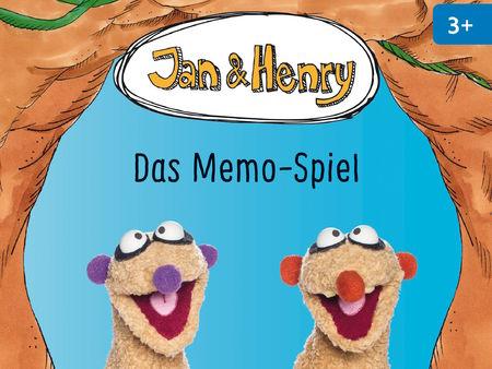 Jan und Henry: Das Memo-Spiel