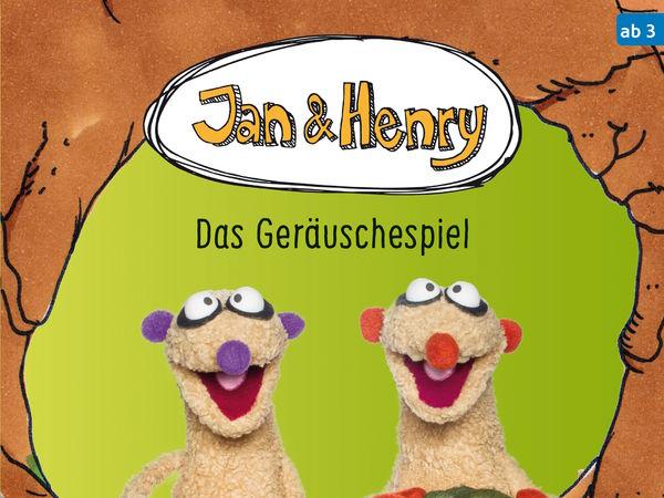 Bild zu Alle Brettspiele-Spiel Jan und Henry: Geräuschespiel