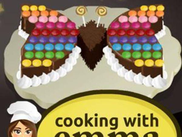 Bild zu Mädchen-Spiel Schoko Schmetterling - Kochen mit Emma