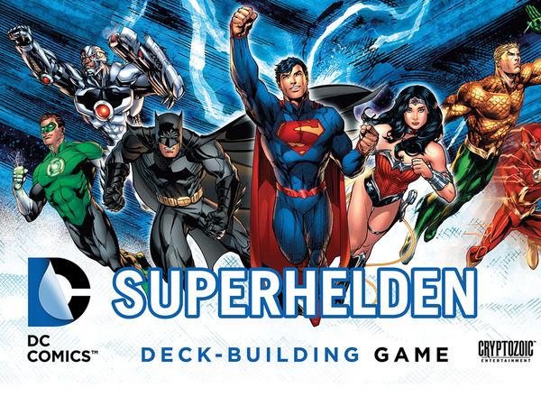 Bild zu Alle Brettspiele-Spiel DC Superhelden Deck-Building Game
