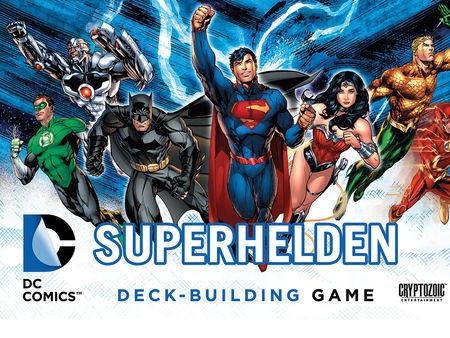 DC Superhelden Deck-Building Game