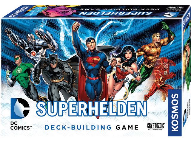 DC Superhelden Deck-Building Game Bild 1