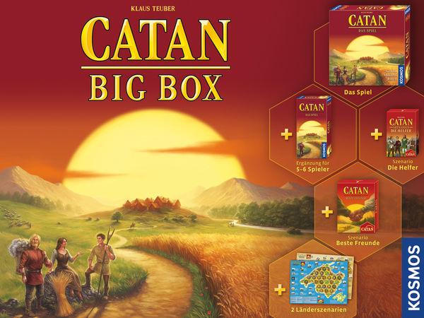 Bild zu Alle Brettspiele-Spiel Catan: Big Box