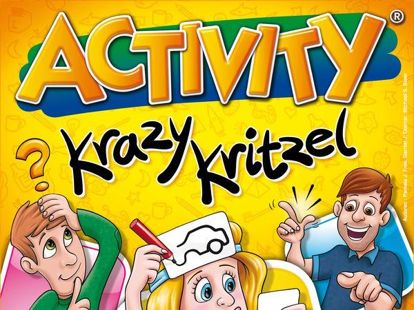Bild zu Frühjahrs-Neuheiten-Spiel Activity Krazy Kritzel