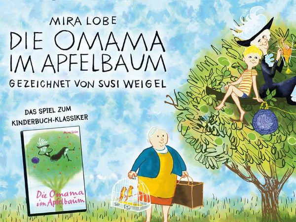 Bild zu Alle Brettspiele-Spiel Die Omama im Apfelbaum