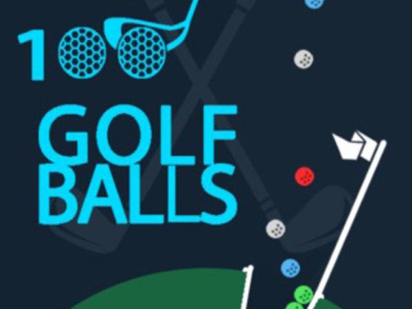 Bild zu HTML5-Spiel 100 Golf Balls