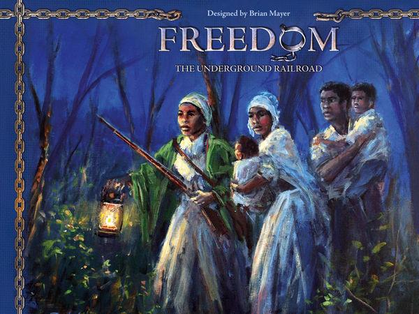 Bild zu Alle Brettspiele-Spiel Freedom: The Underground Railroad