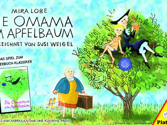 Die Omama im Apfelbaum Bild 1