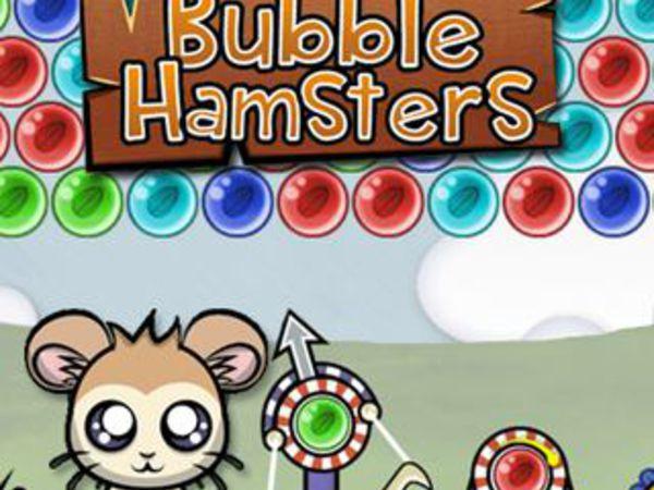 Bild zu Geschick-Spiel Bubble Hamsters