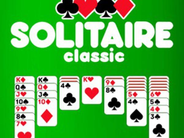 Bild zu Karten & Brett-Spiel Solitaire Classic