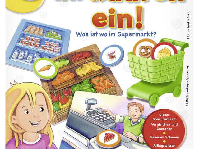 Komm, wir kaufen ein! Was ist wo im Supermarkt? Bild 1