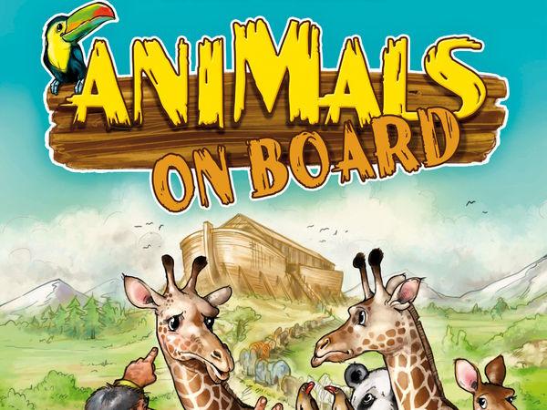 Bild zu Alle Brettspiele-Spiel Animals on Board