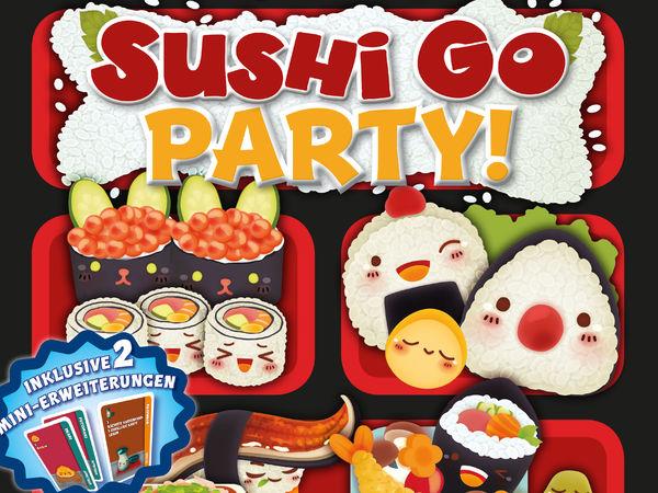 Bild zu Alle Brettspiele-Spiel Sushi Go Party!