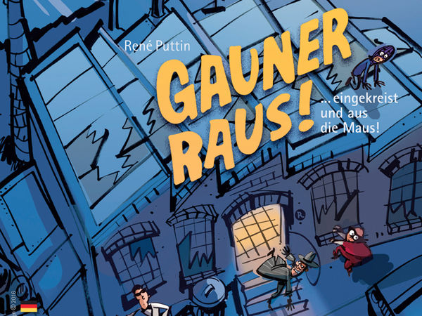 Bild zu Alle Brettspiele-Spiel Gauner Raus!