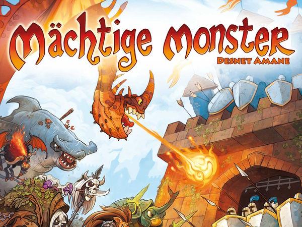 Bild zu Alle Brettspiele-Spiel Mächtige Monster