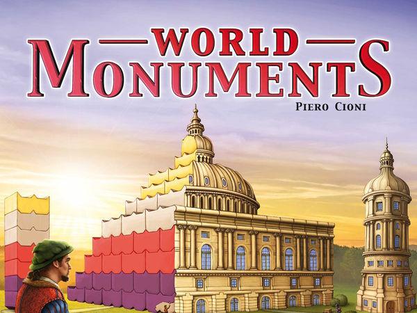 Bild zu Alle Brettspiele-Spiel World Monuments