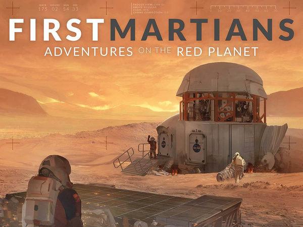 Bild zu Alle Brettspiele-Spiel First Martians: Abenteuer auf dem roten Planeten
