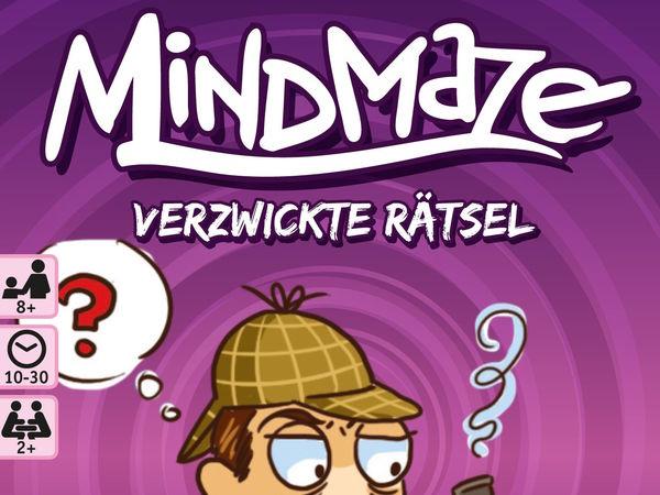 Bild zu Alle Brettspiele-Spiel MindMaze: Verzwickte Rätsel - Geschichten für junge Detektive