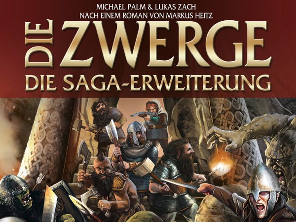 Bild zu Alle Brettspiele-Spiel Die Zwerge: Die Saga-Erweiterung