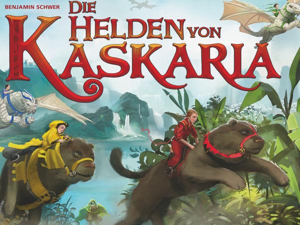 Bild zu Alle Brettspiele-Spiel Die Helden von Kaskaria