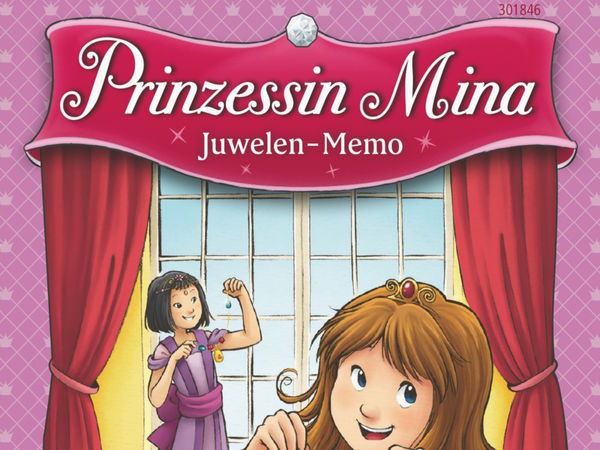 Bild zu Alle Brettspiele-Spiel Prinzessin Mina: Juwelen-Memo