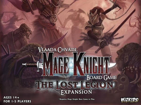Bild zu Alle Brettspiele-Spiel Mage Knight: Die Verschollene Legion
