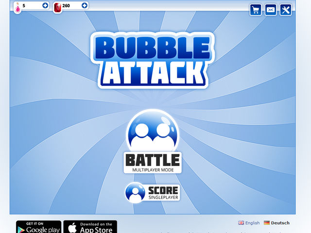 Bubble Attack Screenshot 1