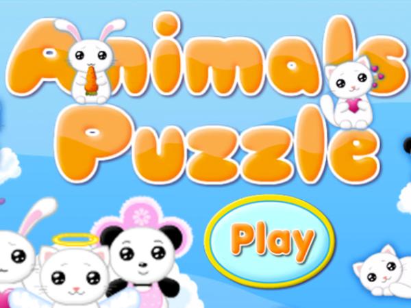 Bild zu Kinder-Spiel Animals Puzzle
