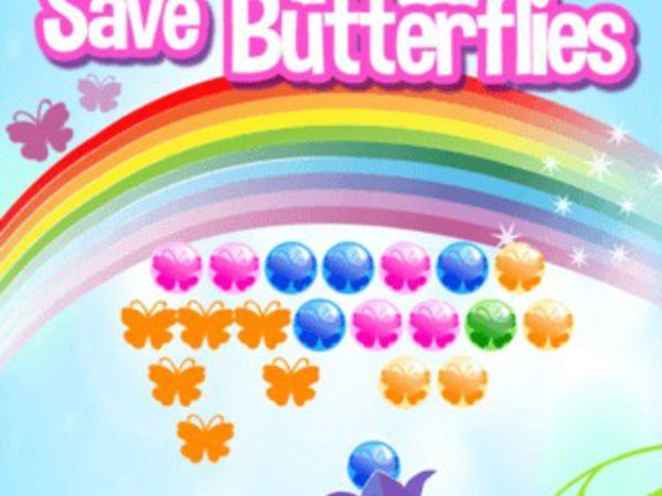 Bild zu Geschick-Spiel Save Butterflies