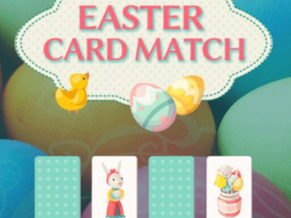 Bild zu Denken-Spiel Easter Card Match