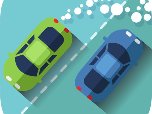 Bild zu Geschick-Spiel Slot Car Dodge