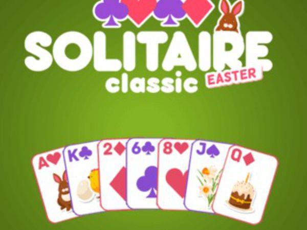 Bild zu Denken-Spiel Solitaire Classic Easter