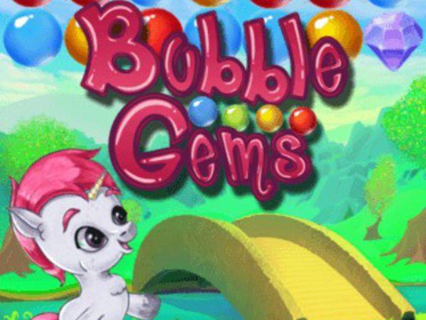 Bild zu Mädchen-Spiel Bubble Gems