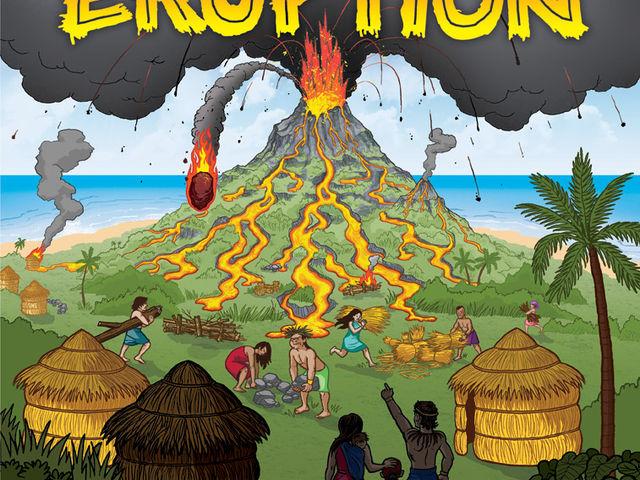 Eruption Bild 1