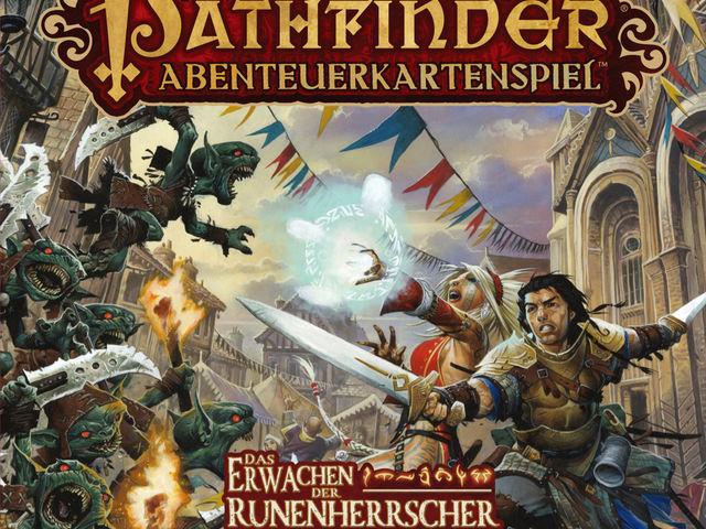 Pathfinder Abenteuerkartenspiel: Das Erwachen der Runenherrscher – Grundbox Bild 1