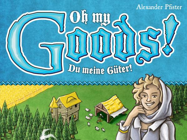 Bild zu Alle Brettspiele-Spiel Oh My Goods!