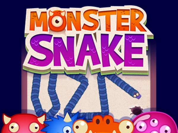 Bild zu Klassiker-Spiel Monster Snake