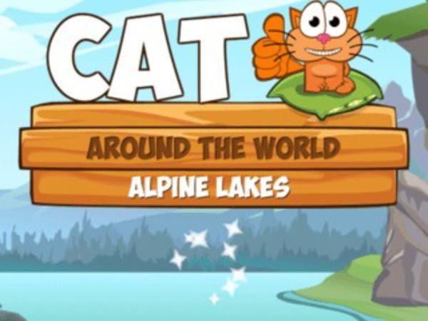 Bild zu Denken-Spiel Cat Around the World