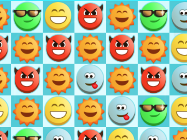 Bild zu Highscore-Spiel Emoji Match 3