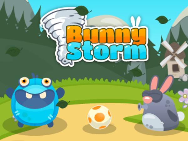 Bild zu Geschick-Spiel Bunny Storm