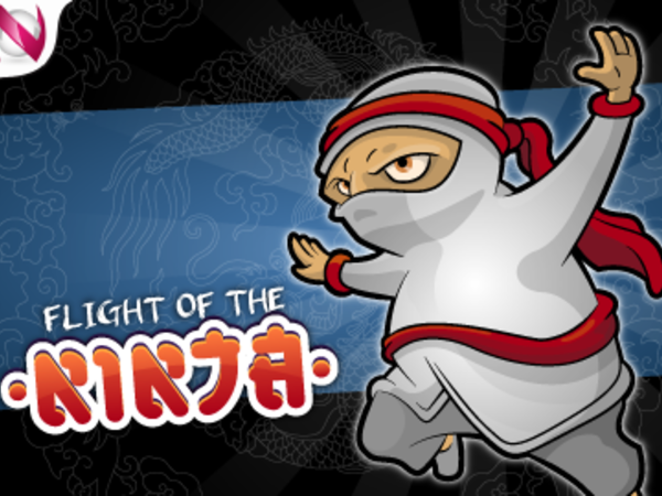 Bild zu Highscore-Spiel Flight of the Ninja