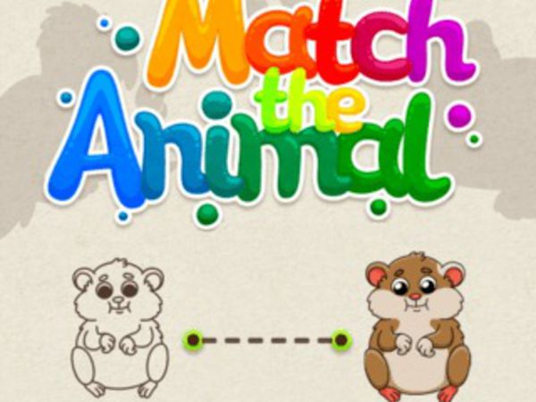 Bild zu Kinder-Spiel Match The Animal