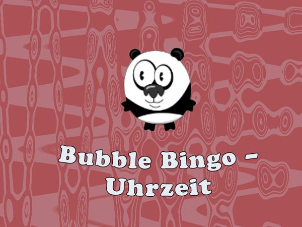 Bild zu Denken-Spiel Bubble Bingo - Uhrzeit