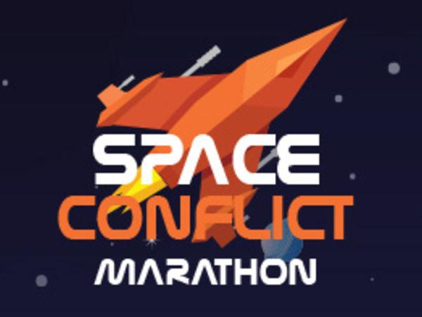 Bild zu Action-Spiel Space Conflict Marathon