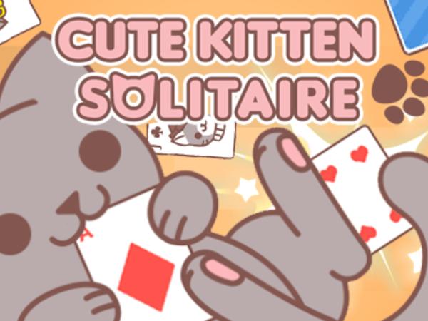Bild zu Denken-Spiel Cute Kitten Solitaire