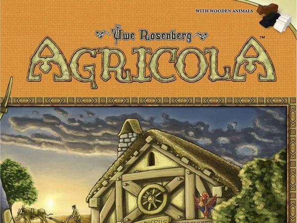 Bild zu Alle Brettspiele-Spiel Agricola - Kennerspiel