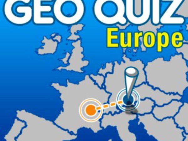 Bild zu Denken-Spiel Geo Quiz - Europe