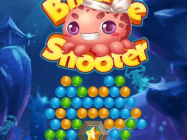 Bild zu Geschick-Spiel Sea Bubble Shooter