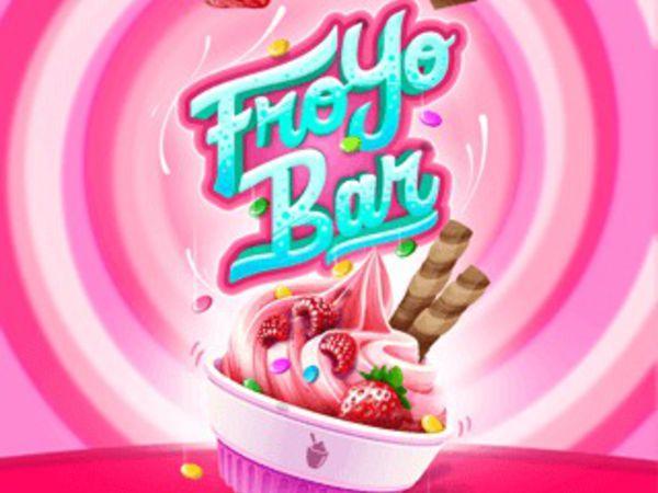 Bild zu Mädchen-Spiel FroYo Bar
