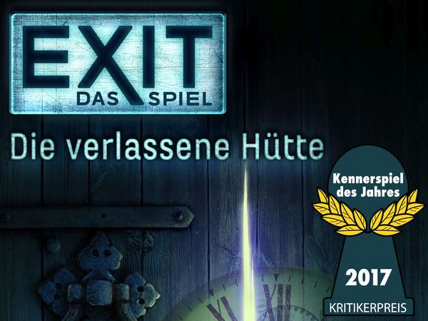 Bild zu Ausgezeichnet 2017-Spiel Exit - Das Spiel: Die verlassene Hütte